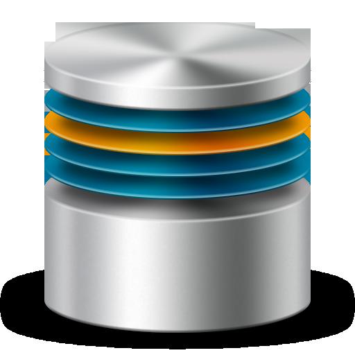Database Server Icon 3D