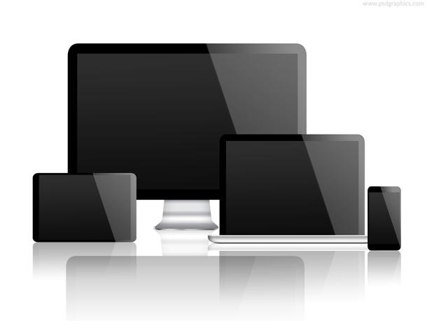 Desktop Smartphone Laptop and Tablet Template