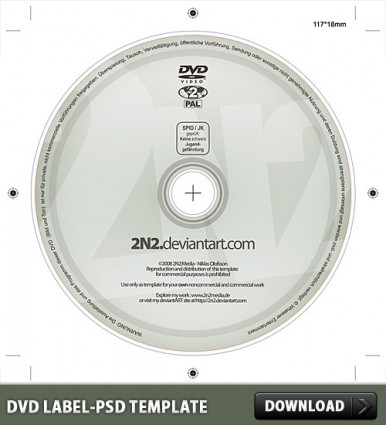 DVD Label Templates Free Downloads
