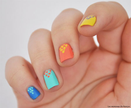 15 Spring Nail Art Designs 2014 Images