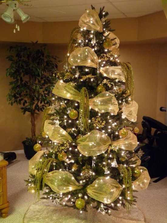 Christmas Trees Ribbon