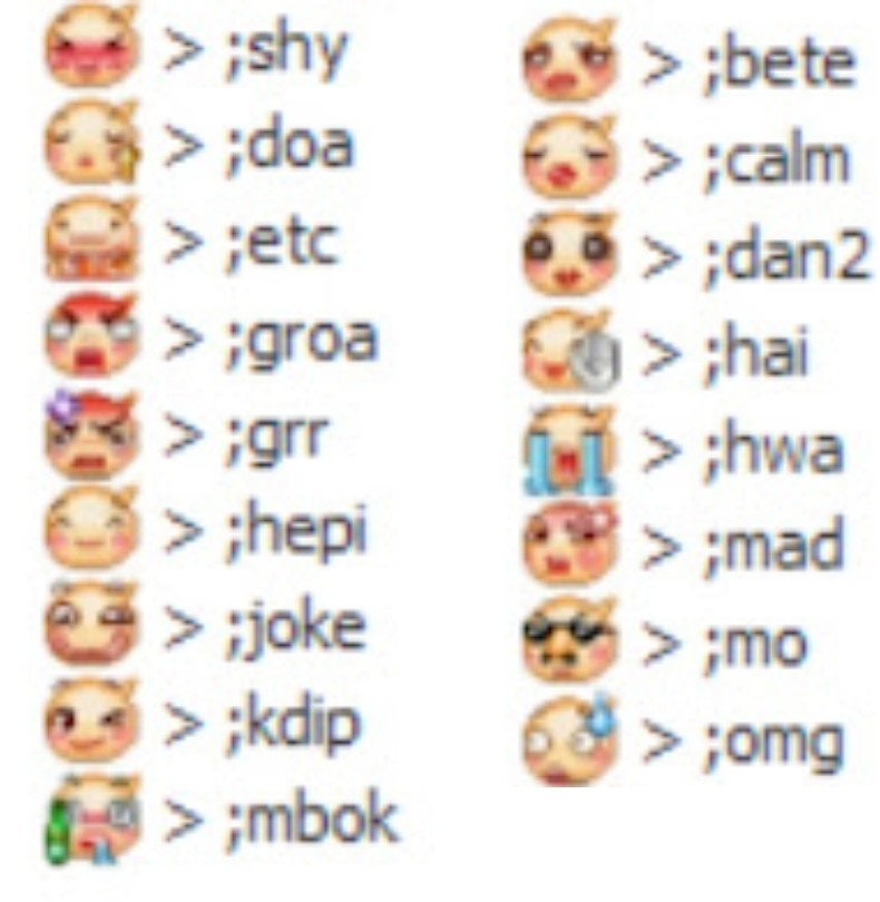 11 Facebook Chat Emoticons For Facebook Images
