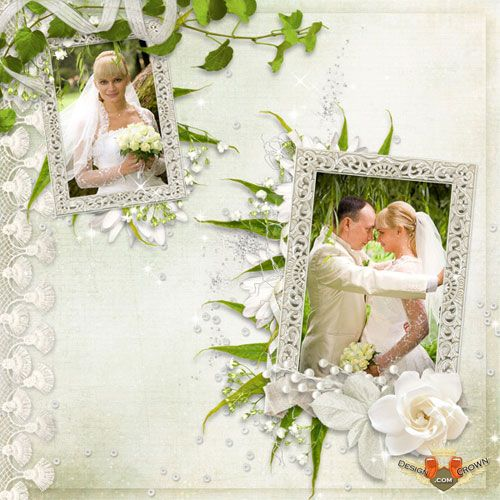 Frames Png Romantic Wedding