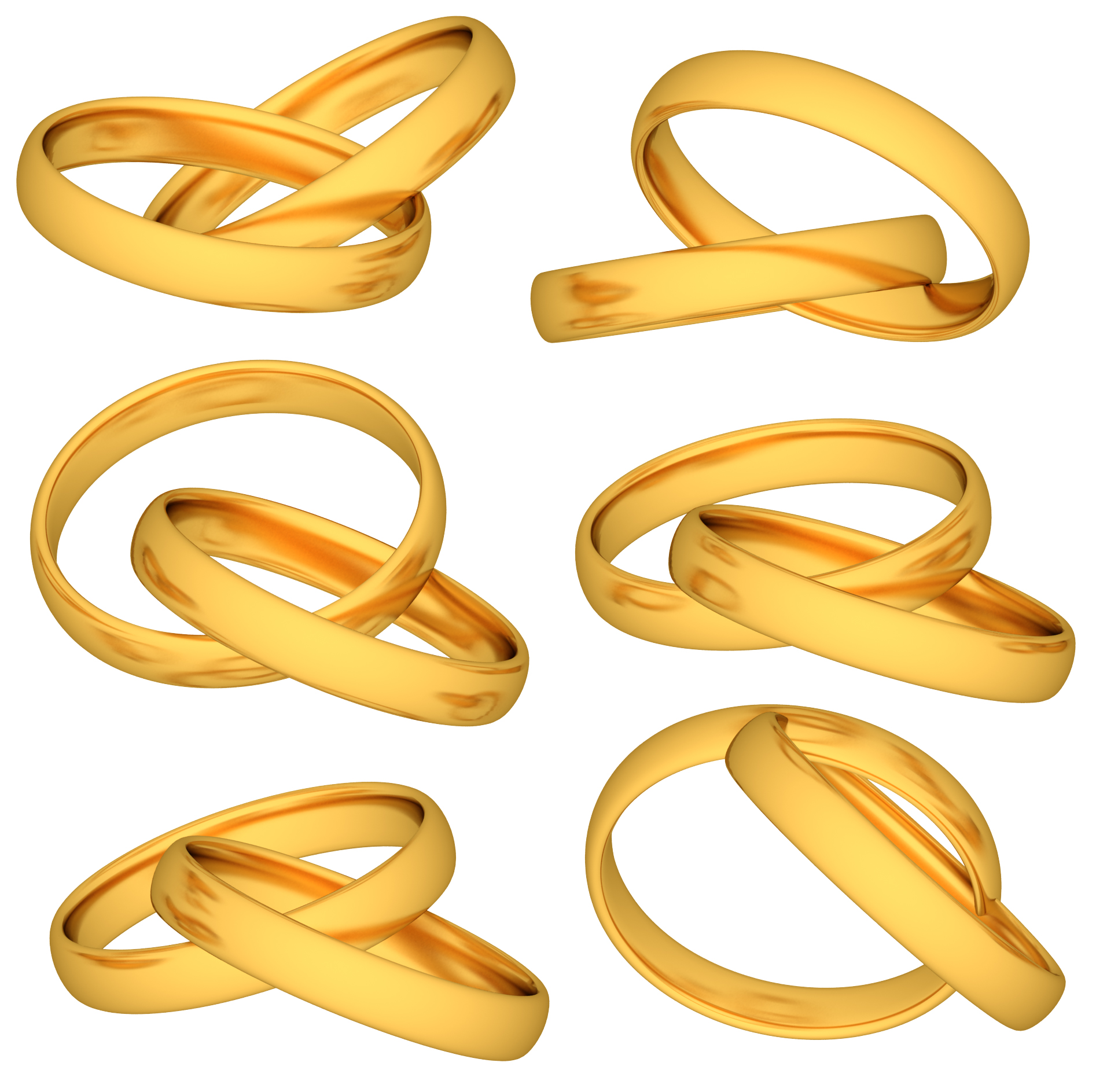 11 PSD Wedding Rings Images