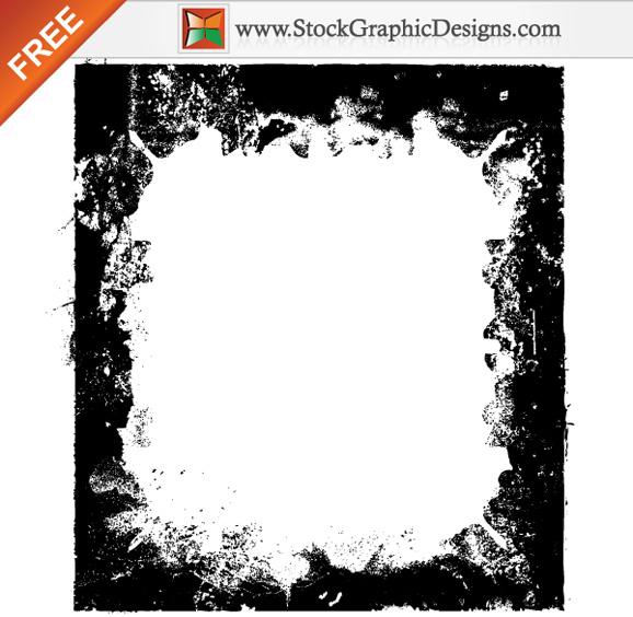 5 Grunge Frame Vector Images