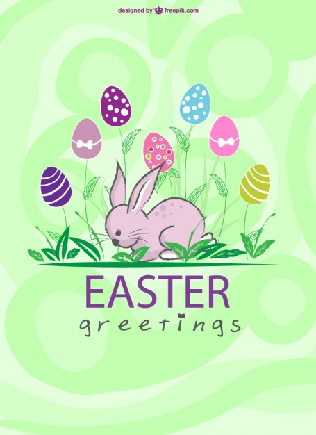 Free Vector Easter Greetings