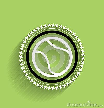 Free Vector Tennis Ball Icon