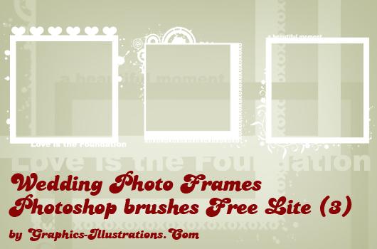 Free Wedding Digital Frames Photoshop