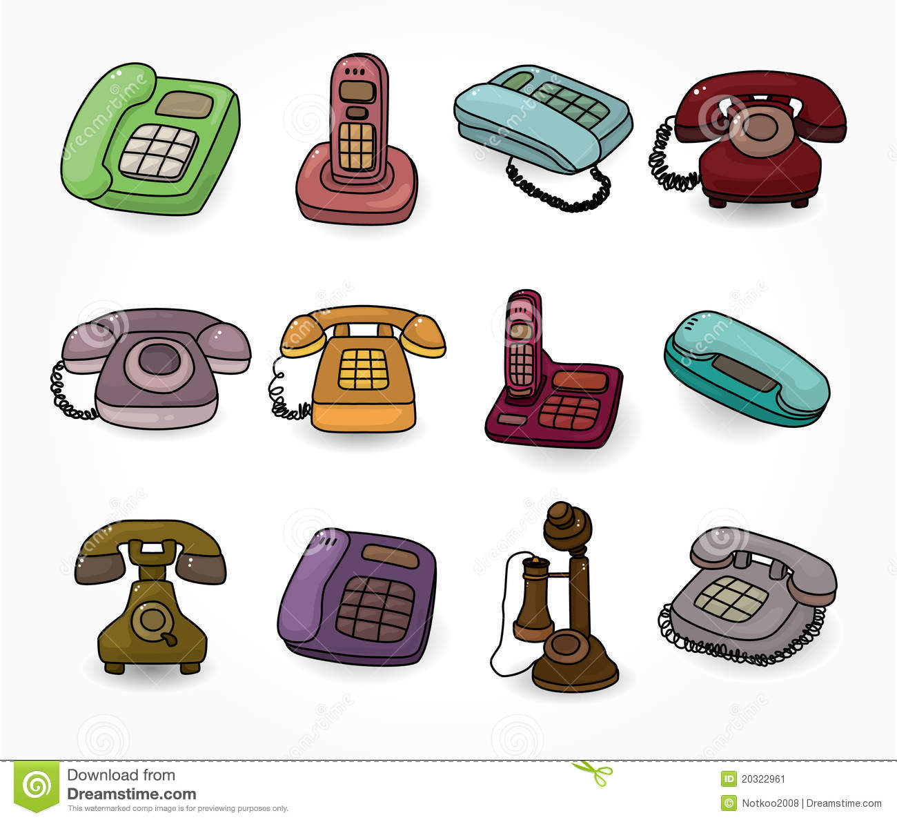 Funny Office Cartoons Phone