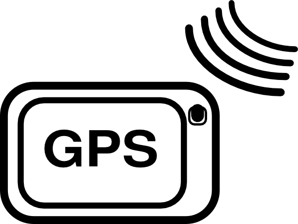 19 GPS Icon Clip Art Images