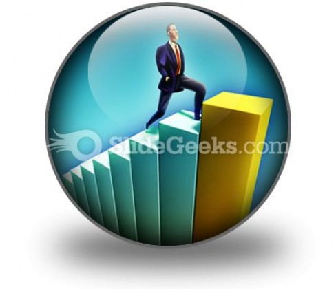 Growth PowerPoint Icon