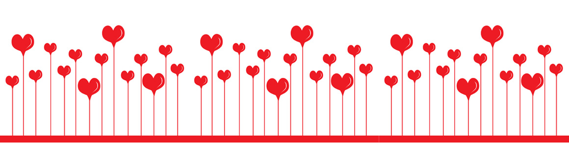 16 Heart Border Vector Images