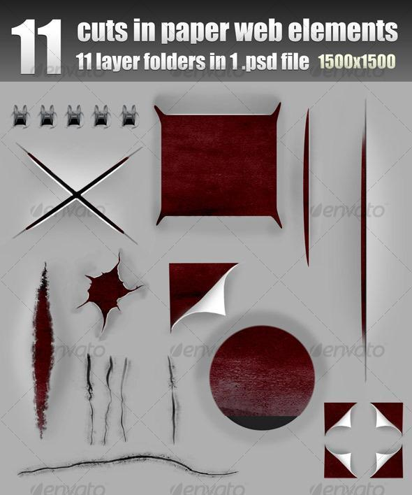 14 tear page psd images ripped paper effect photoshop