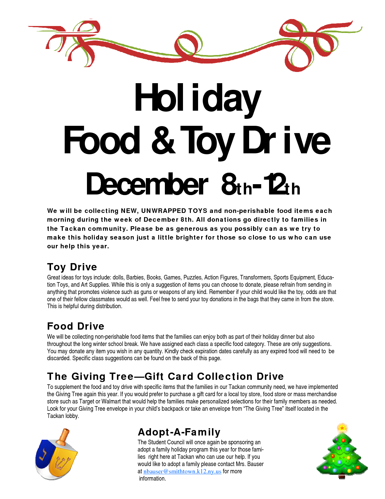 food drive flyer samples business consulting proposal sample