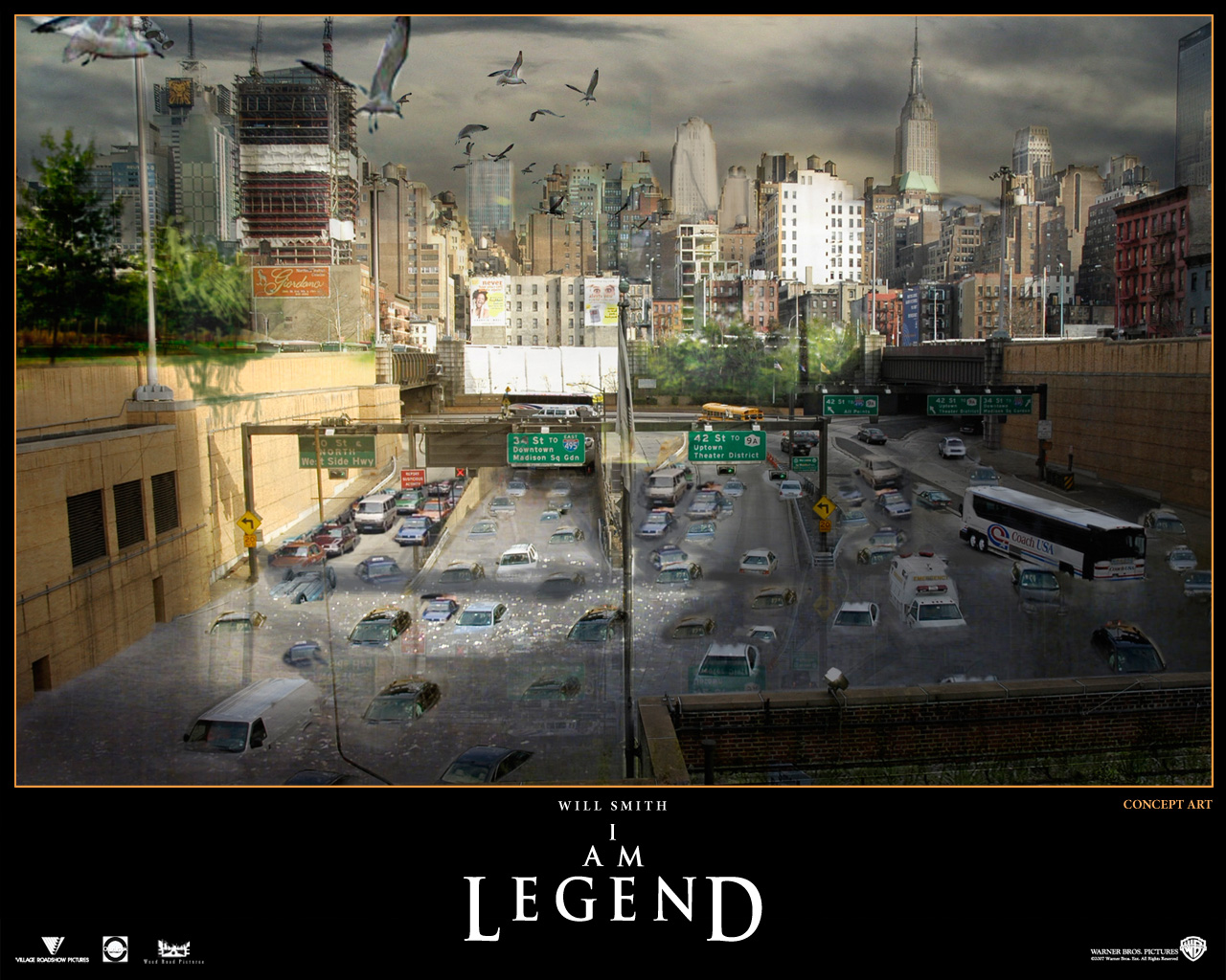 10 I AM Legend Official PSDs Images