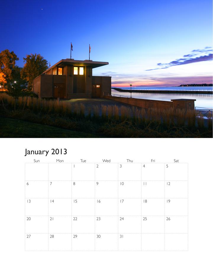 Illustrator Calendar Template 2013