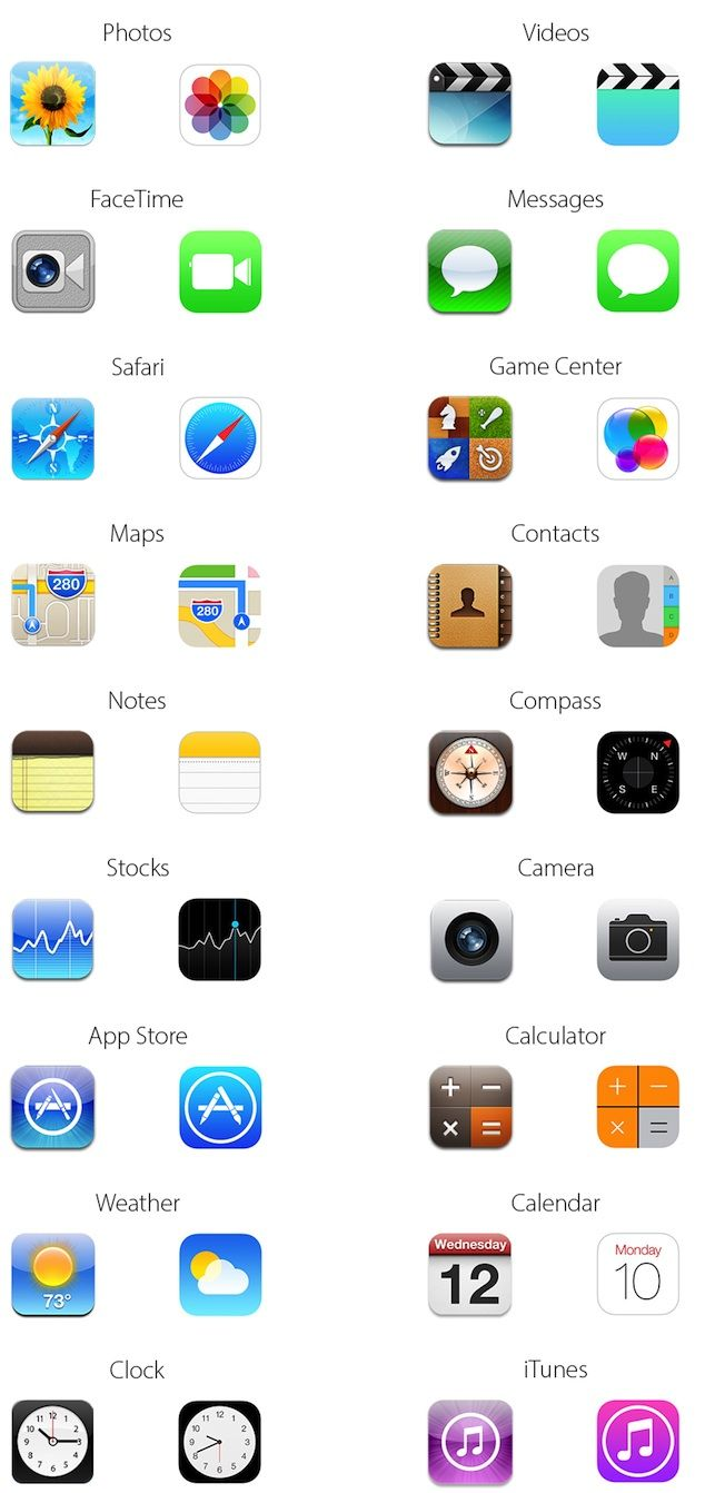 15 New IOS Icons Images