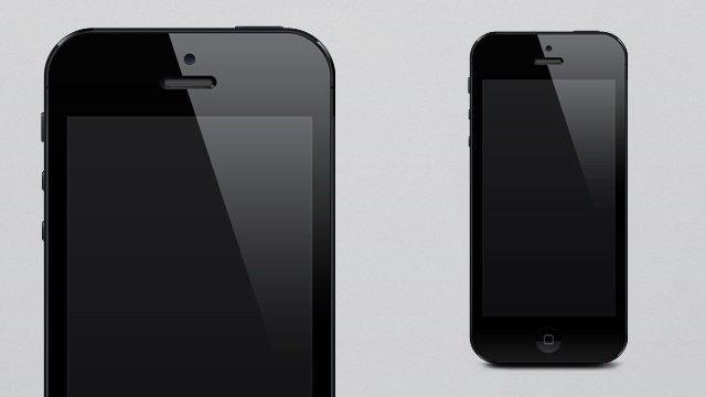 iPhone 5 PSD Template