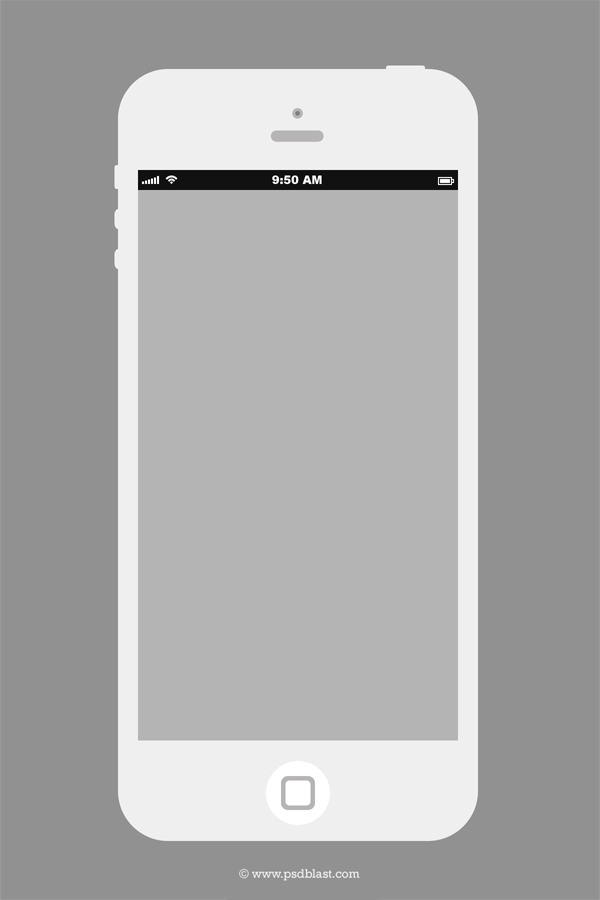 iPhone Design Template