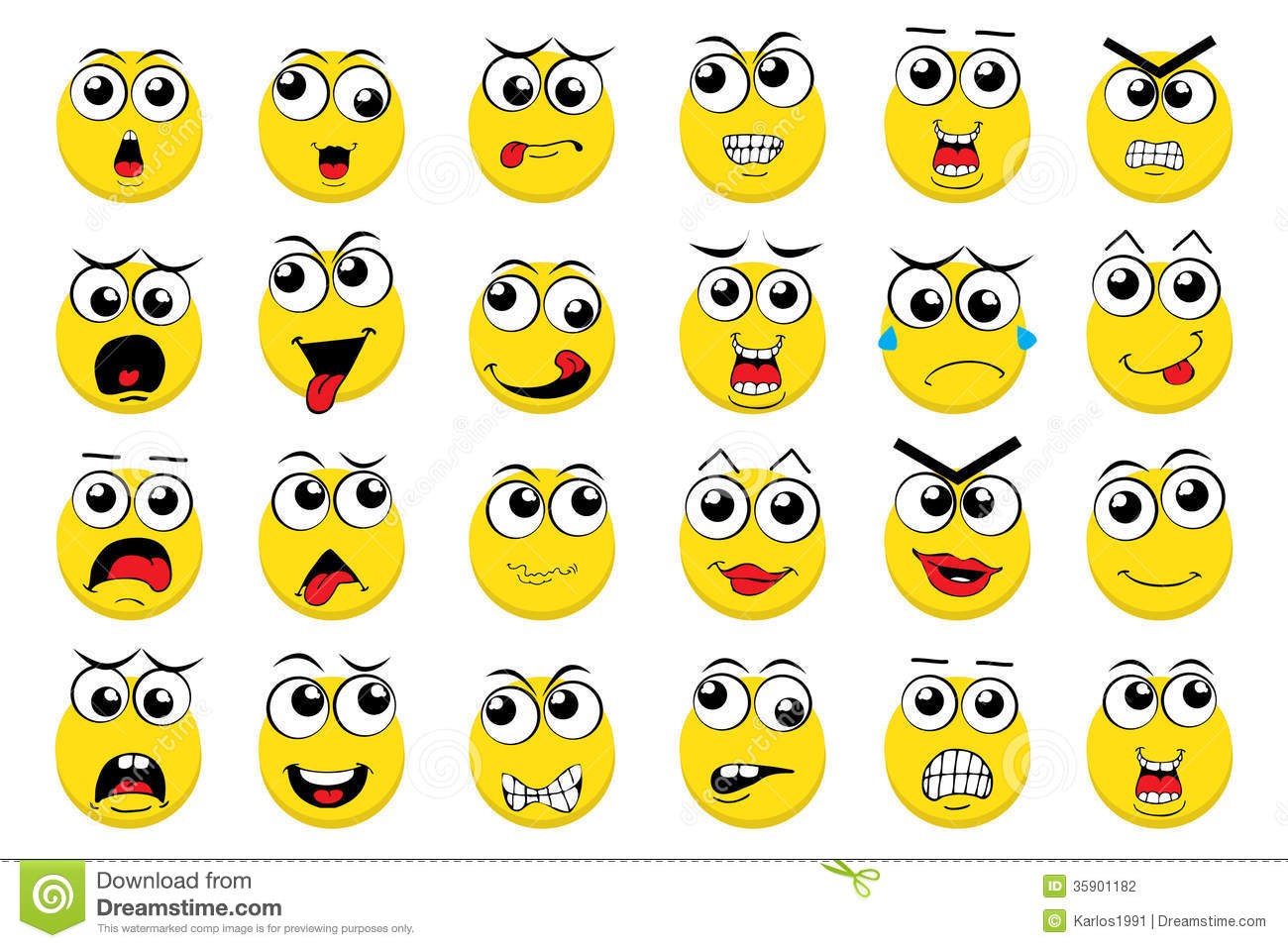 14 Vector Business Emoticon Images
