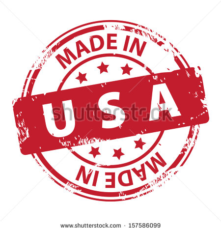Made in USA Logo Vector