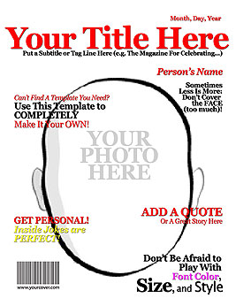 18 Blank Magazine Cover Design Images