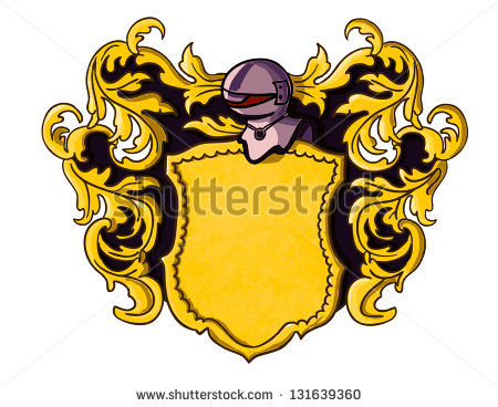 Medieval Crest Vector