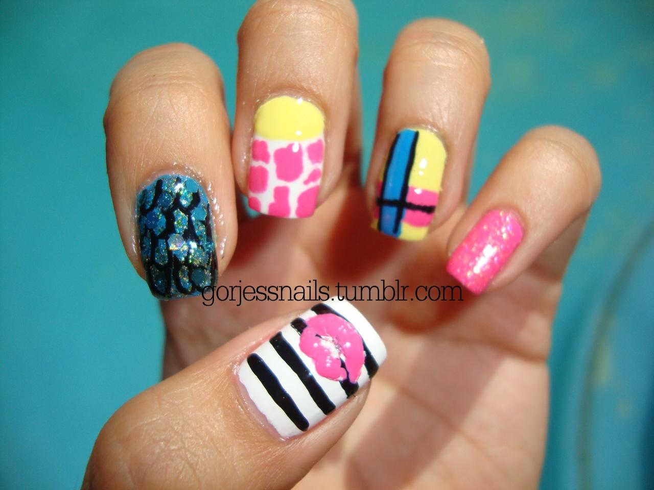 13 Nicki Minaj Pointy Nail Designs Images - Nicki Minaj Nail Designs ...