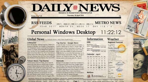 Old Newspaper Background Desktop