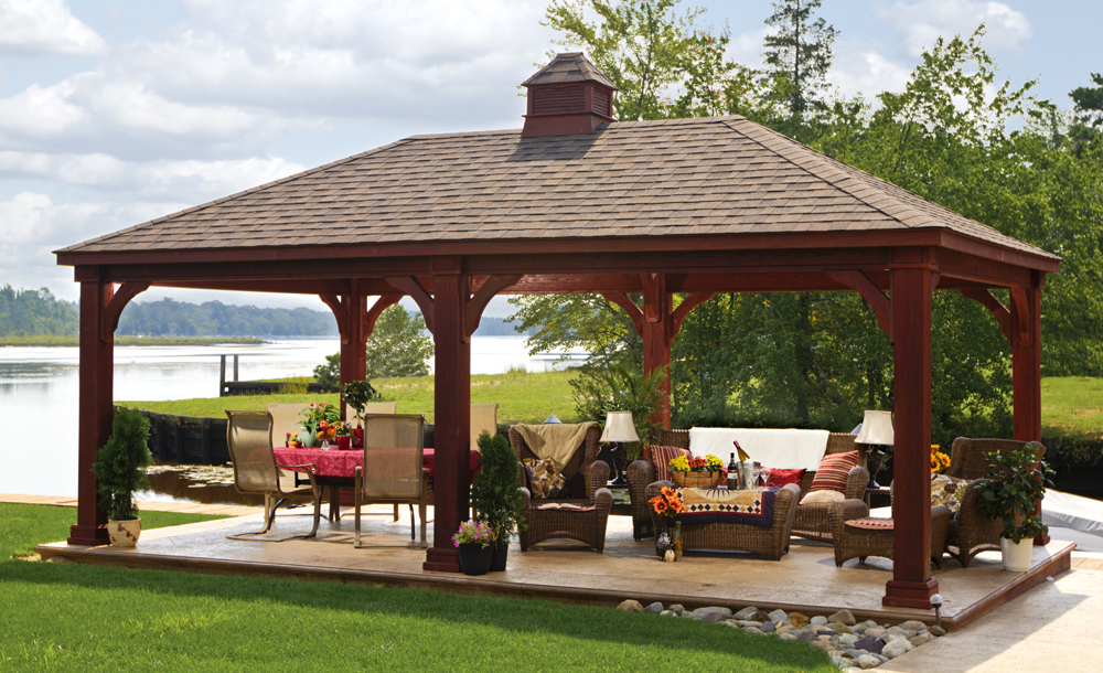 17 Designs For Outdoor Covered Pavilions Images Outdoor