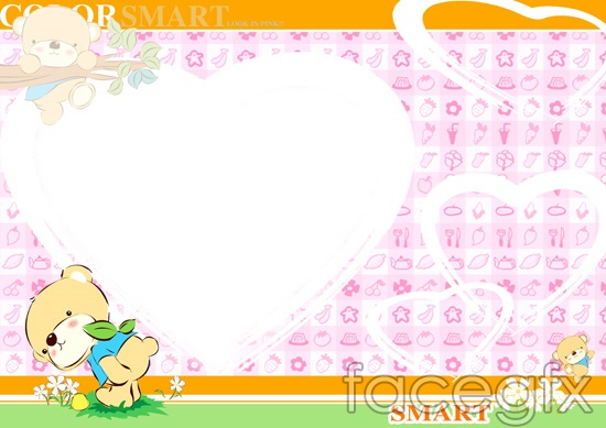 Photoshop Frame Templates for Baby
