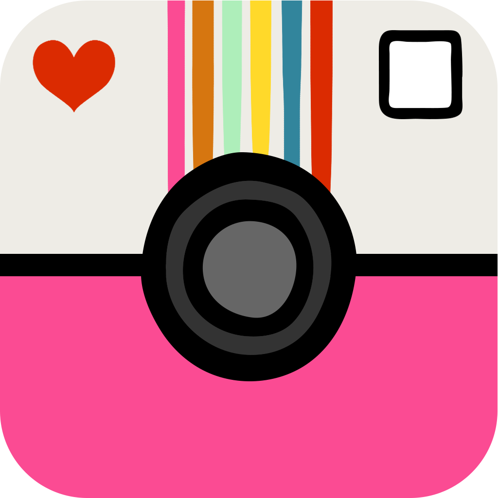 15 Cute Girly Camera Icon Images
