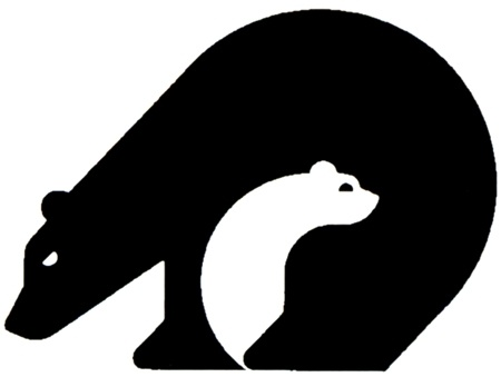 Positive and Negative Space Bear