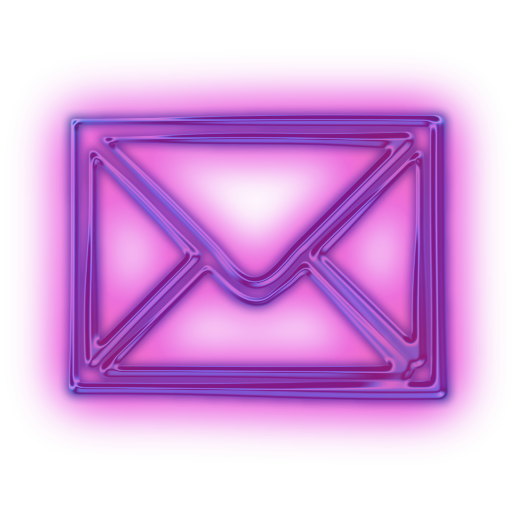 Purple Email Icon