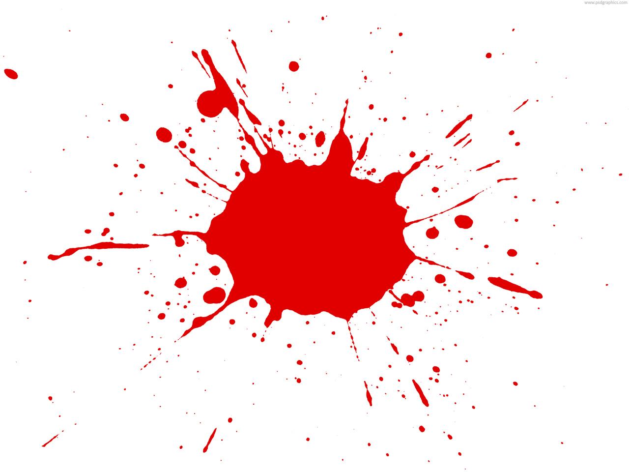 15 Paint Splatter PSD Images