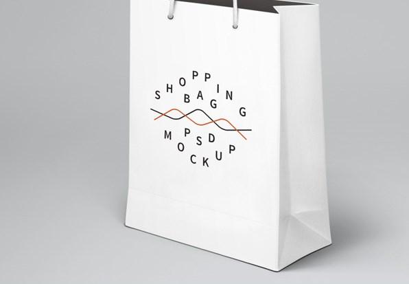 Shopping Bag PSD Mockup Free