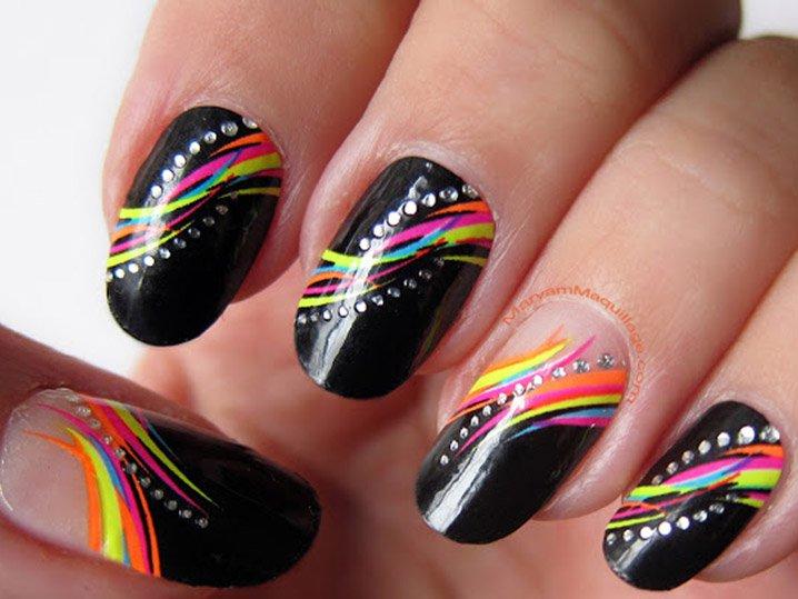 15 Spring Nail Art Designs 2014 Images Easy Spring Nail Art