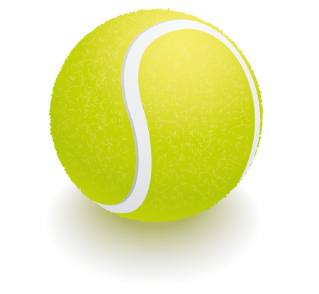 14 Tennis Ball Icon Vector Free Images