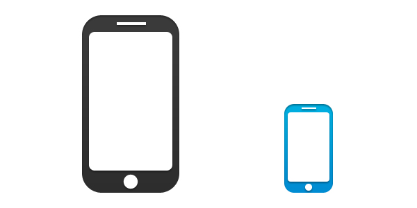 14 Smartphone Icon PSD Images