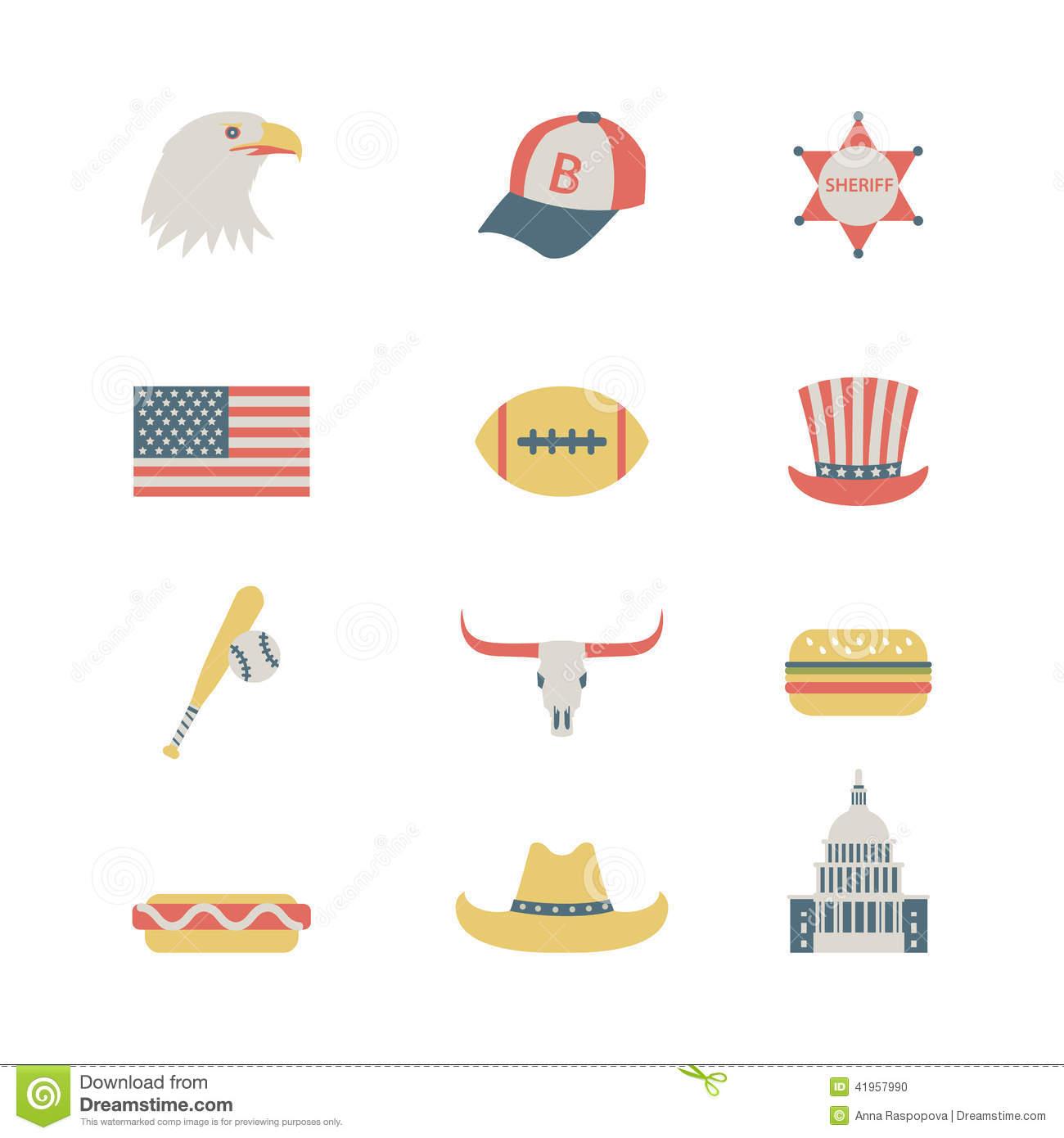 USA Flat Icon