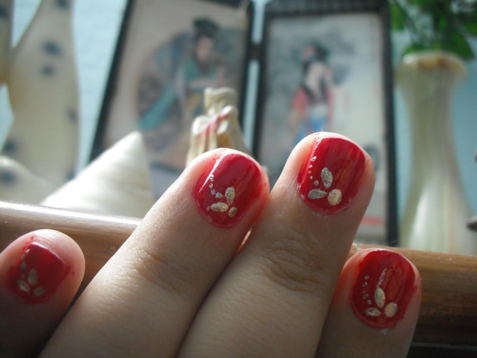 Very Short Nail Art Designs for Nails