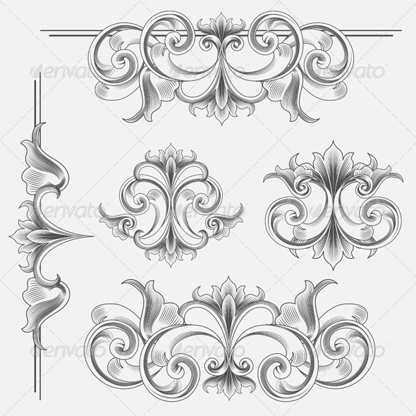 Victorian Vector Graphics