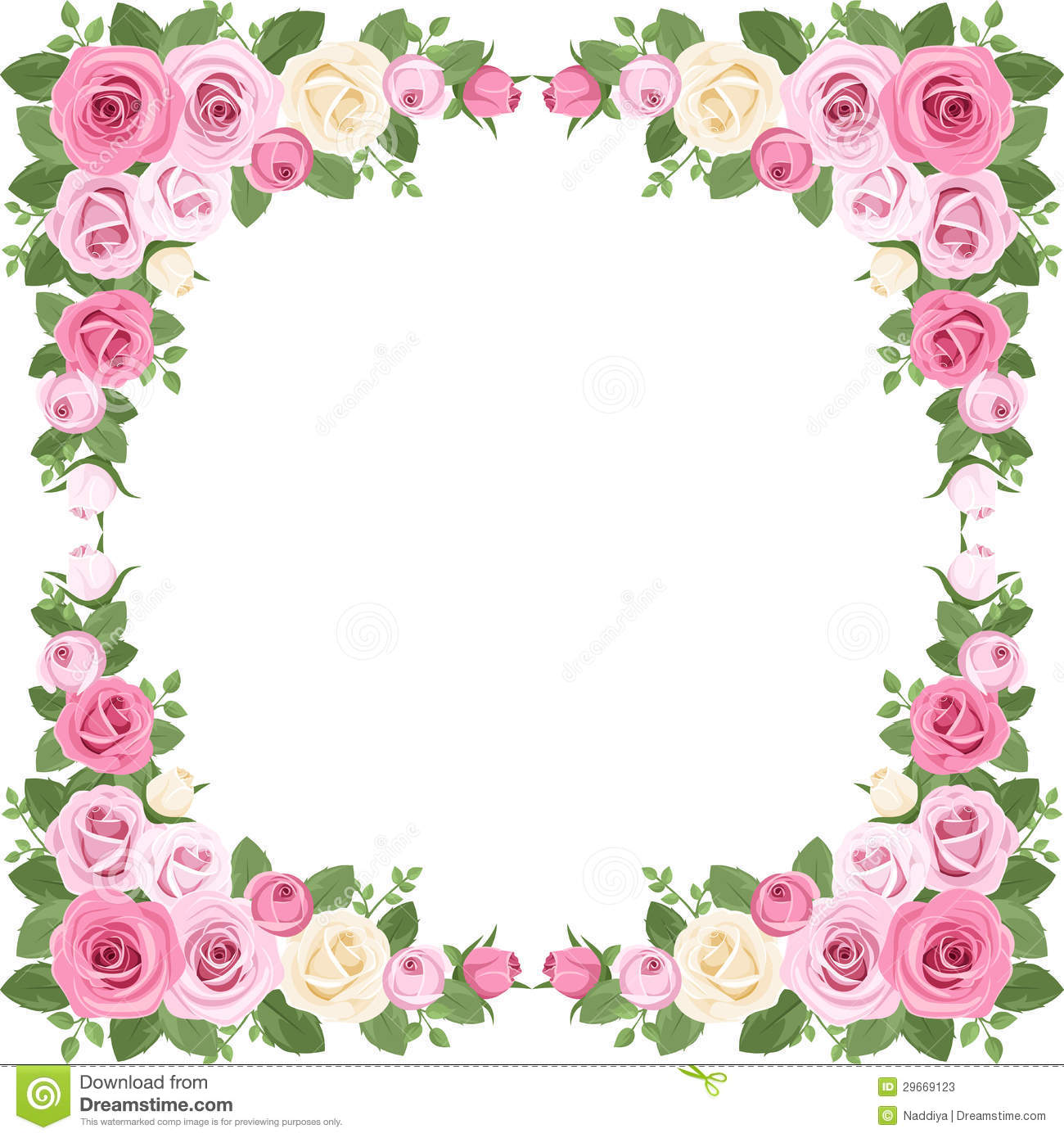 13 Rose Border Vector Images - Rose Border Vector Free ...