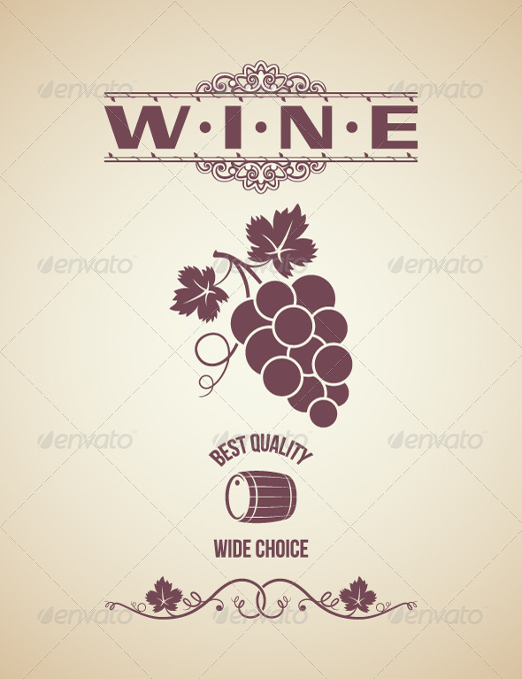 Vintage Wine Label Design