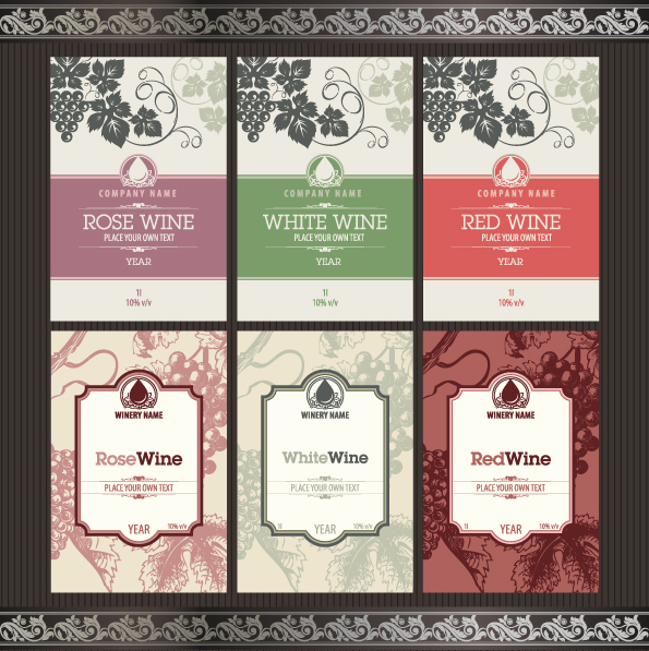 Vintage Wine Label Templates Free