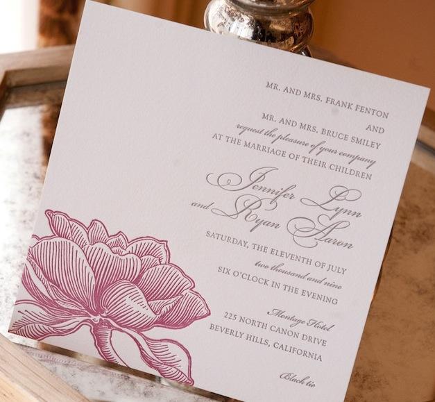 Wedding Invitations Font Style