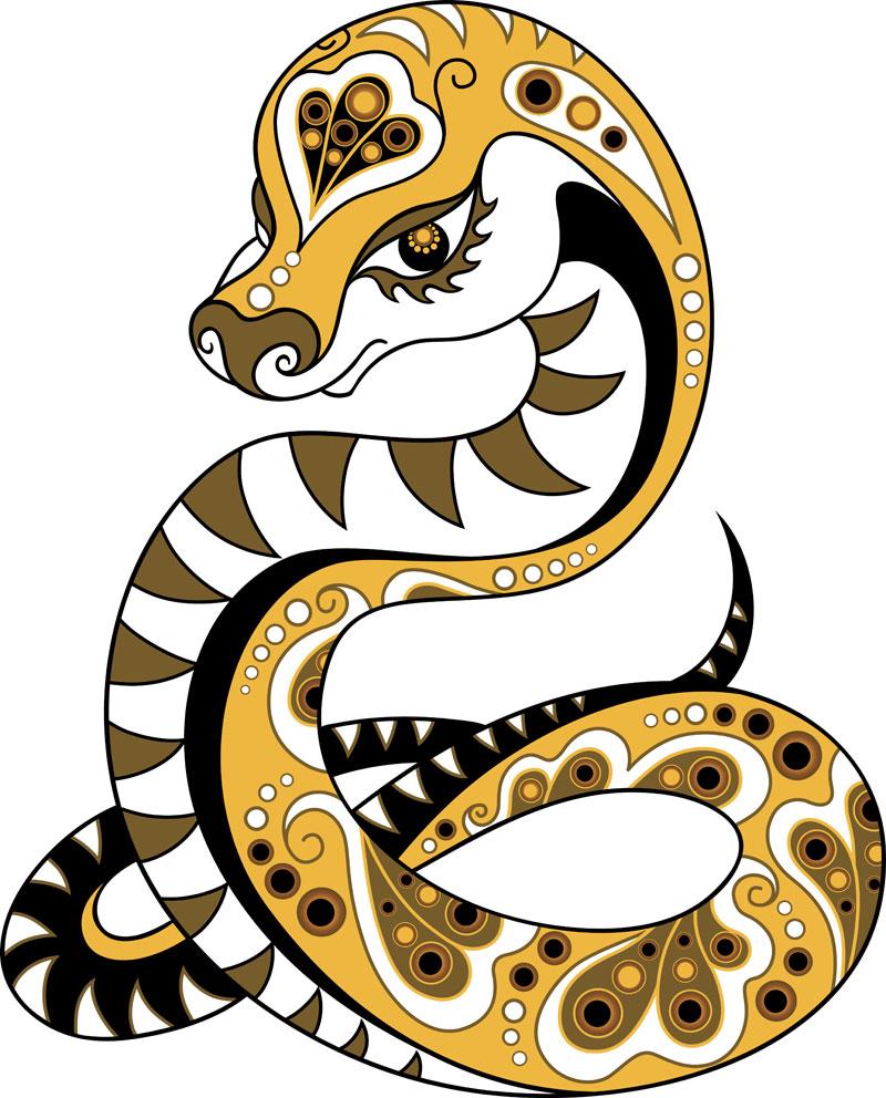 Символ года змея своими руками