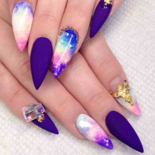 16 stiletto nail design tumblr images spring stiletto