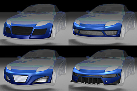11 3D Car Design Images