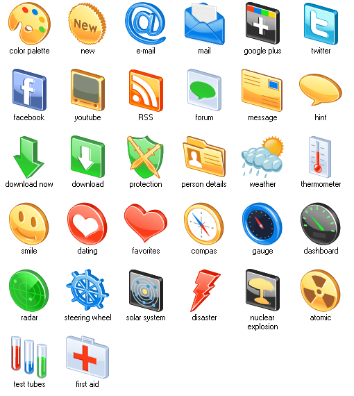 17 3D Free Icon Sets Images